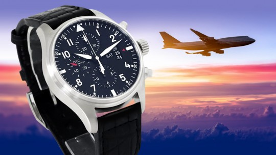 IWC Big Pilot's Chronograph watch