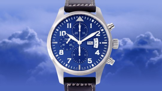IWC Pilot's watch Father and son
