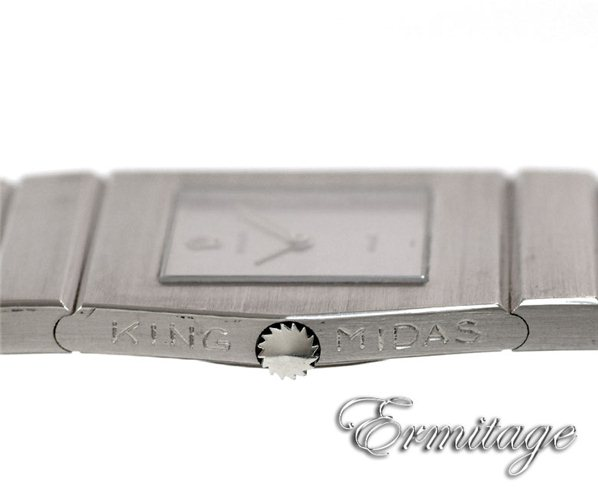 White gold rare King Midas Rolex vintage watch ref. 9630 at Ermitage Jewelers