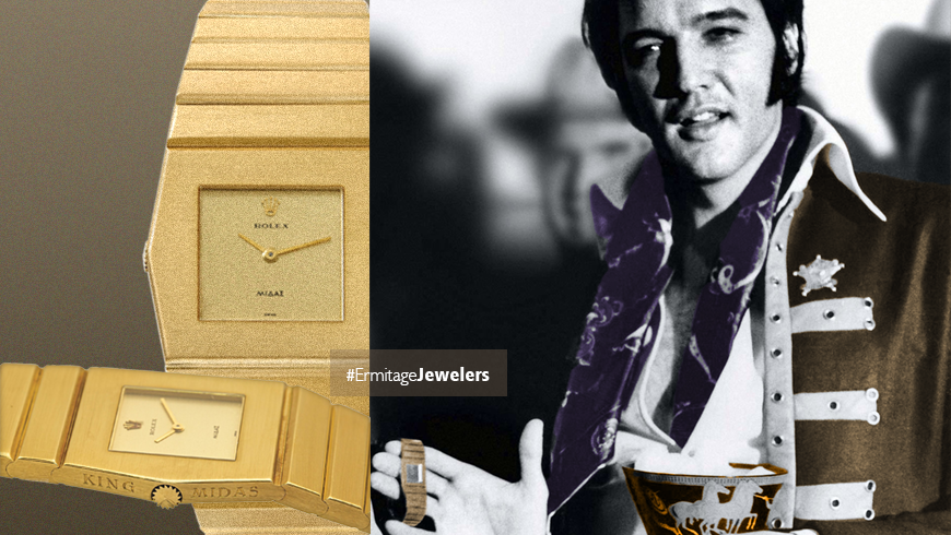 Elvis Presley & Rolex King Midas Watch  - Chronicles